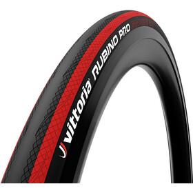 Vittoria Rubino Pro Copertone pieghevole 700x25C, nero/rosso